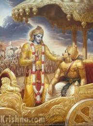 Krishna - com Arjuna
